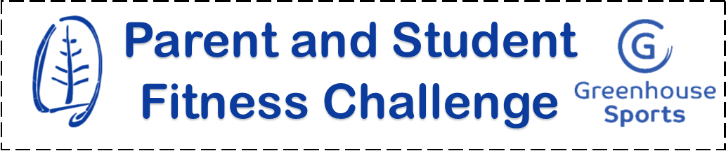 Parent and student fitness challenge logo