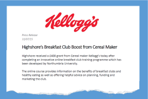 Kellogg's Press Release