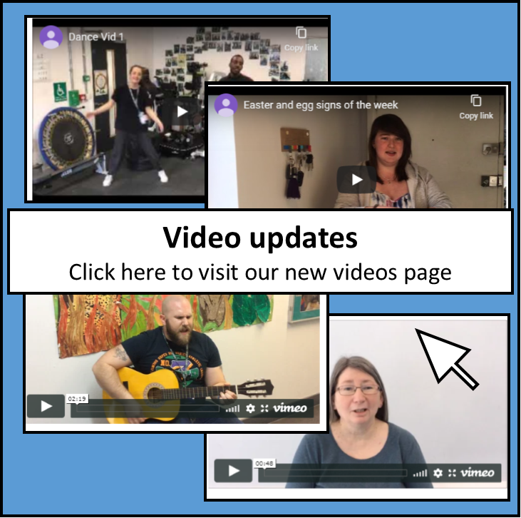 video updates page
