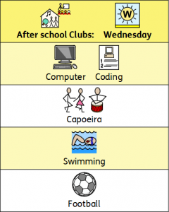 Wednesday Clubs