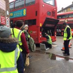 Year 13 at Stockwell Bus Garage